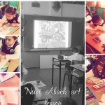 Nuri Abach art lesson 4