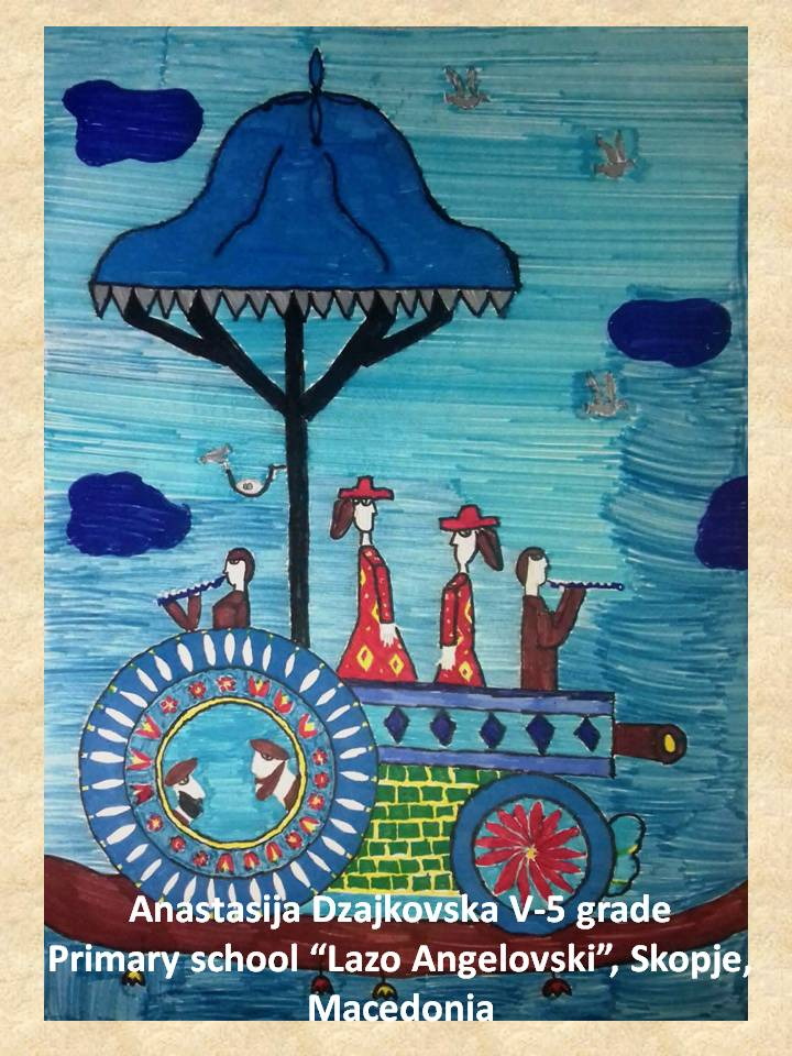 Nuri Abach art lesson-drawings V grade (12)