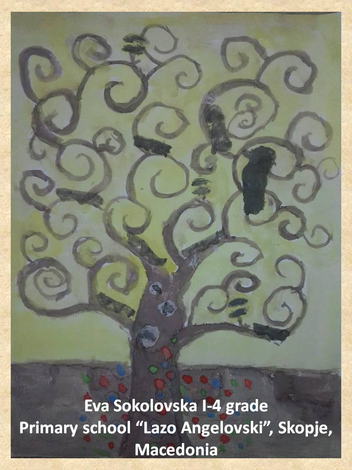 Gustav Klimpt art lesson-drawings I grade (14)