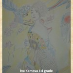 Gustav Klimpt art lesson-drawings I grade (20)