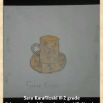 Gustav Klimpt art lesson-drawings II grade (8)