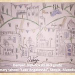 Gustav Klimpt art lesson-drawings III grade (19)