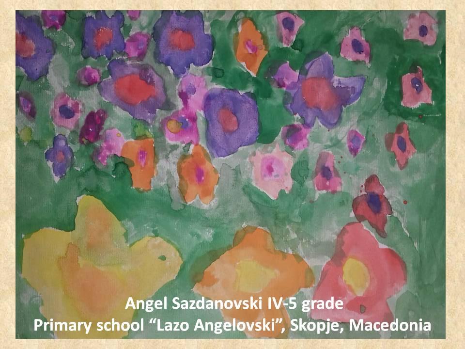 Gustav Klimpt art lesson-drawings IV grade (18)