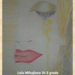 Gustav Klimpt art lesson-drawings IV grade (26)