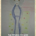Gustav Klimpt art lesson-drawings IV grade (27)