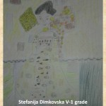Gustav Klimpt art lesson-drawings V grade (10)