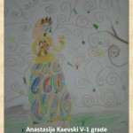 Gustav Klimpt art lesson-drawings V grade (11)