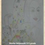 Gustav Klimpt art lesson-drawings V grade (4)