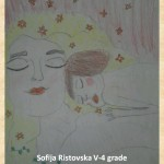Gustav Klimpt art lesson-drawings V grade (6)
