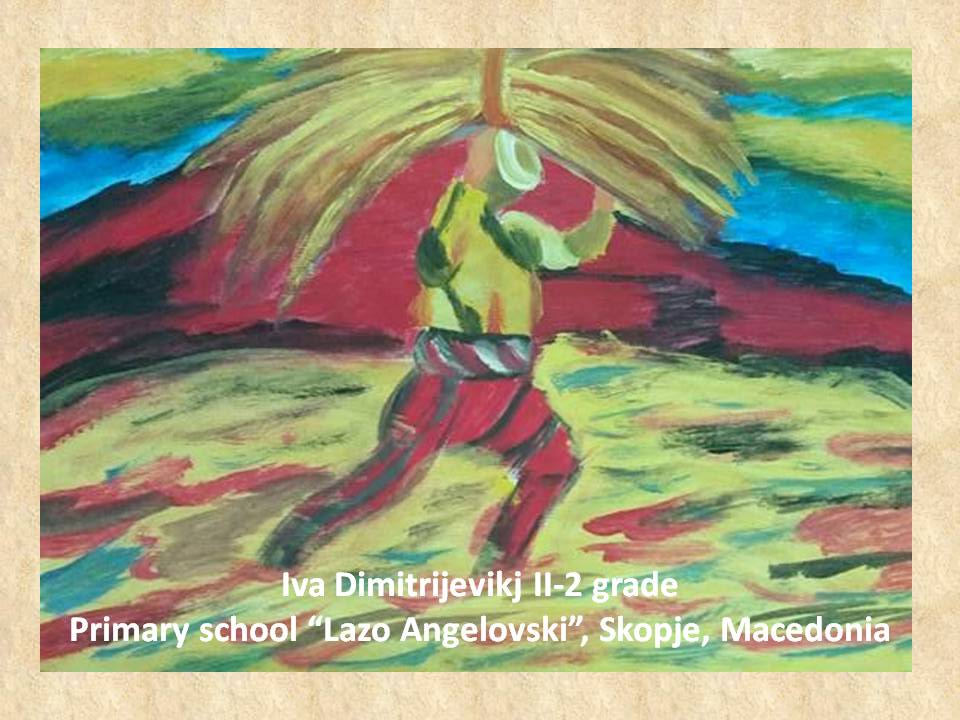 Vladimir Dimitrov art lesson-drawings II grade (6)