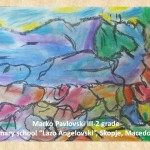 Vladimir Dimitrov art lesson-drawings III grade (44)