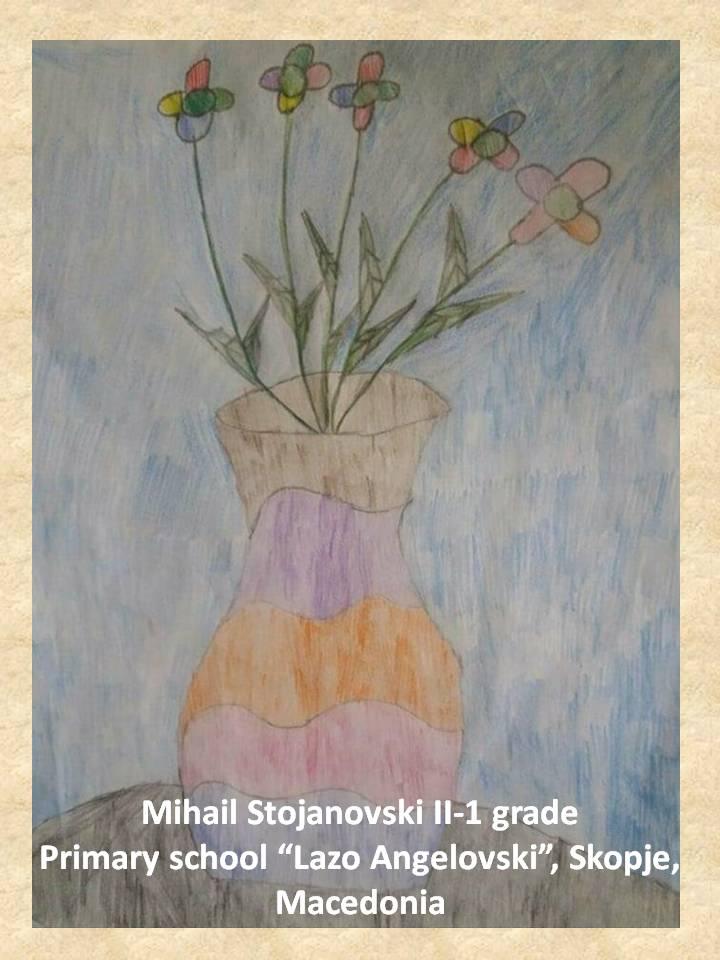 Stefan Luchian art lesson-drawings II grade (1)