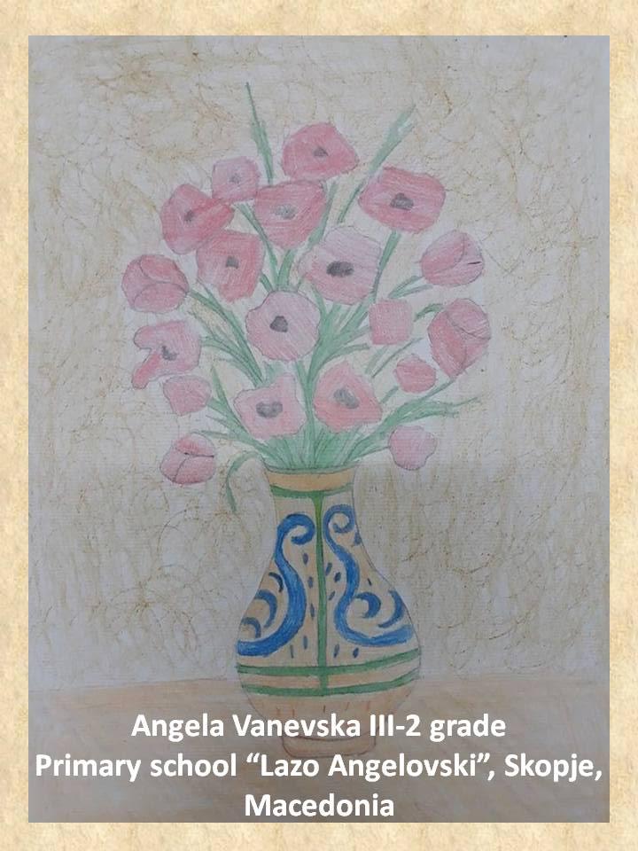 Stefan Luchian art lesson-drawings III grade (1)