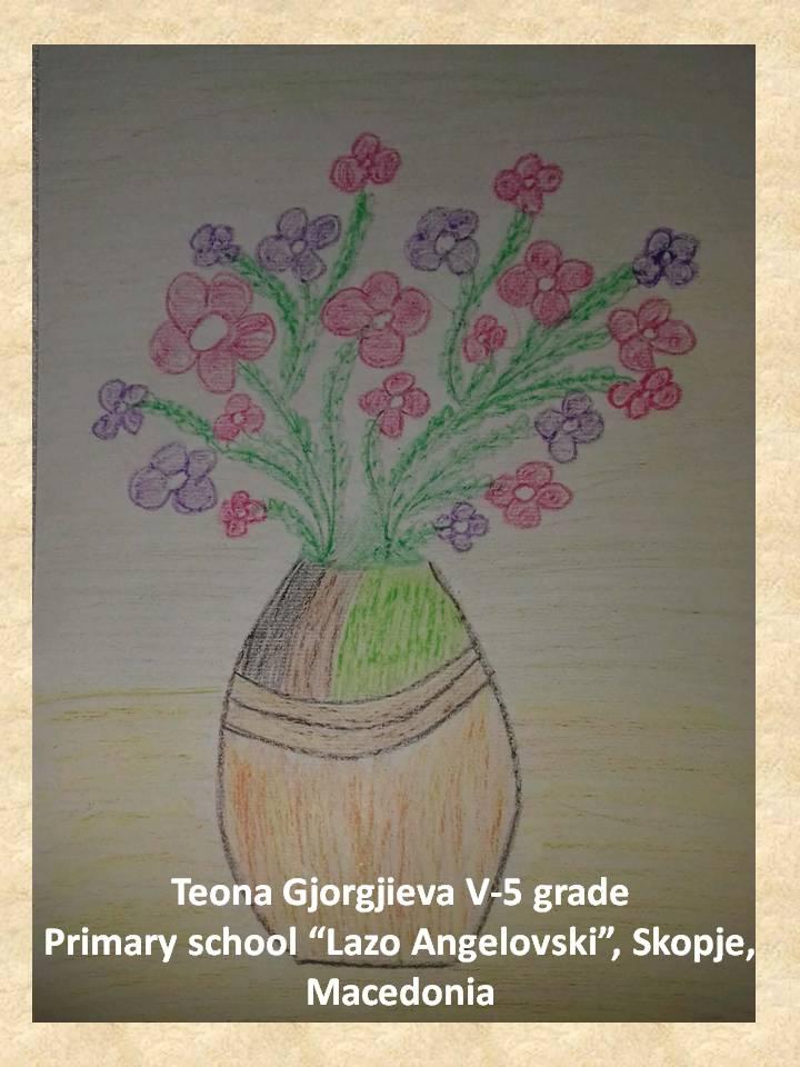 Stefan Luchian art lesson-drawings V grade (1)