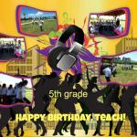 5 HBday Teach