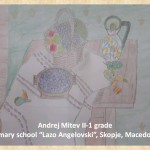 Lazar Lichenovski art lesson-drawings II grade (1)