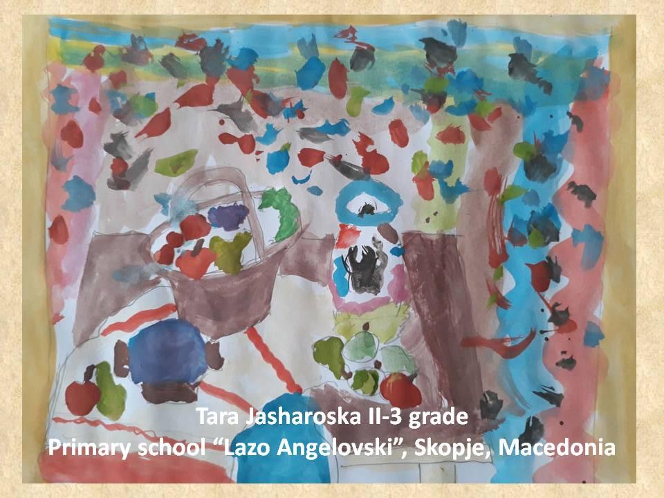 Lazar Lichenovski art lesson-drawings II grade (15)