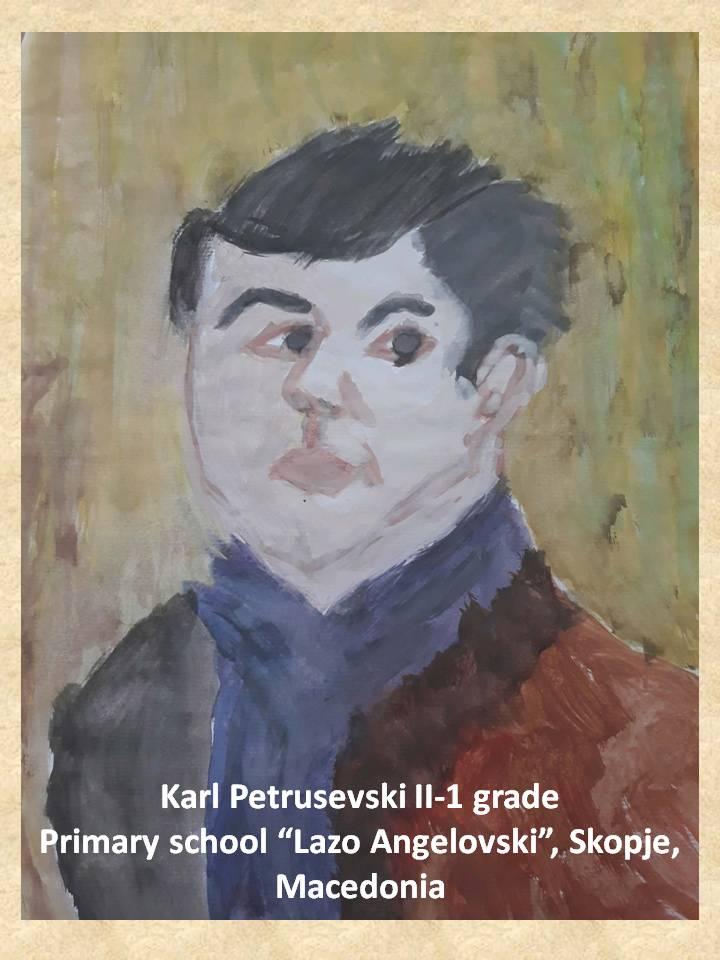 Lazar Lichenovski art lesson-drawings II grade (3)