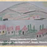 Lazar Lichenovski art lesson-drawings II grade (9)