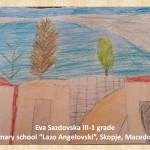 Lazar Lichenovski art lesson-drawings III grade (14)