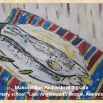 Lazar Lichenovski art lesson-drawings III grade (5)