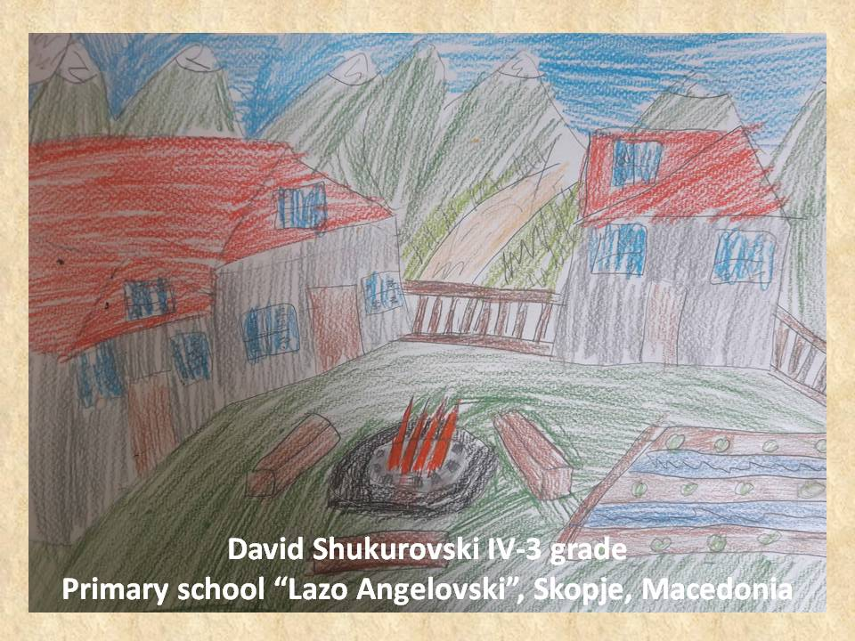 Lazar Lichenovski art lesson-drawings IV grade (20)