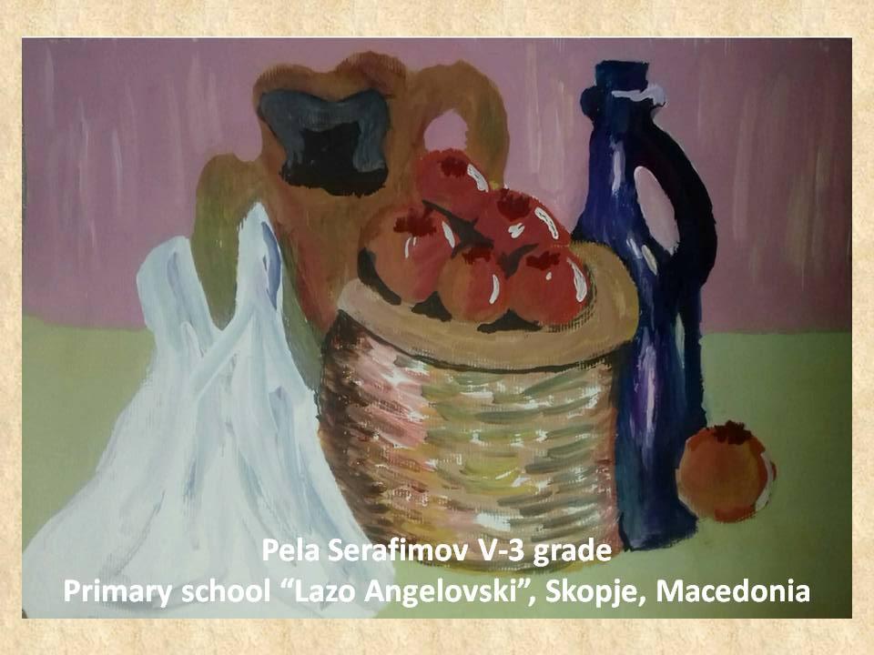 Lazar Lichenovski art lesson-drawings V grade (2)