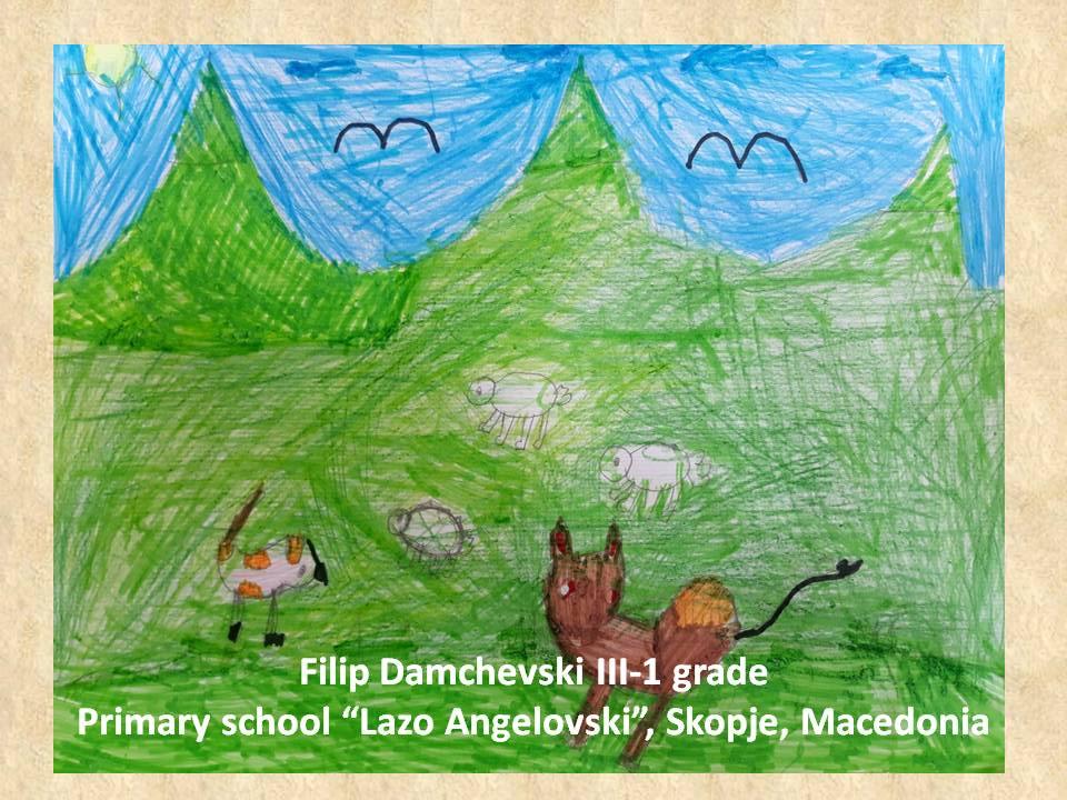 Filippo Palizzi art lesson-drawings III grade (18)