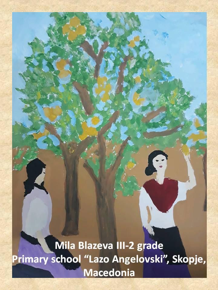 Filippo Palizzi art lesson-drawings III grade (20)