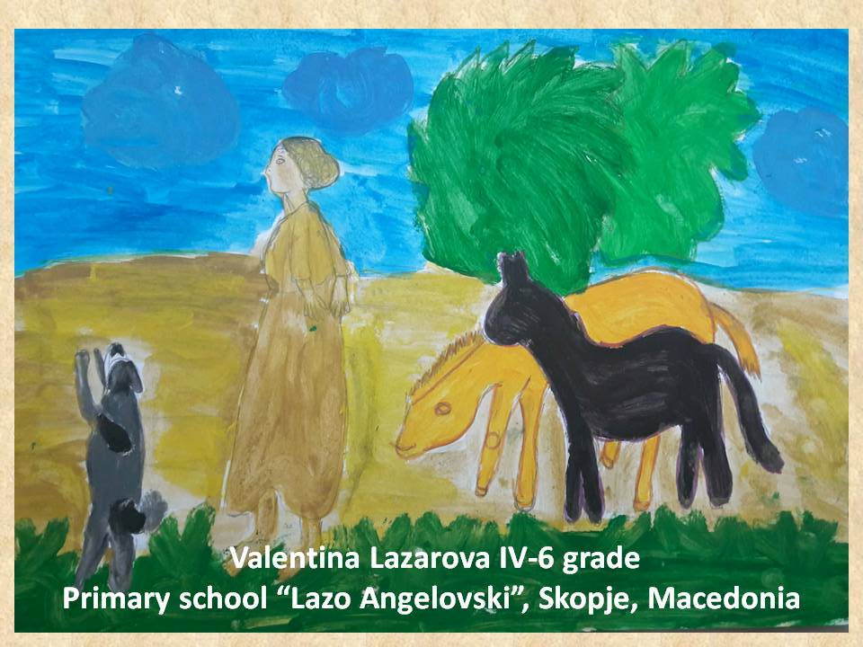 Filippo Palizzi art lesson-drawings IV grade (56)
